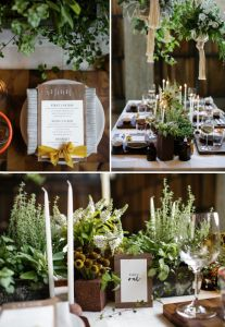 Trendy Wedding Table Arrangements With Candles Middle Rustic Wedding Centerpieces, Wedding Arrangements, Table Arrangements, Wedding Table, Wedding Decorations, Potted Plant Centerpieces, Potted Plants, Wedding Colors, Wedding Flowers