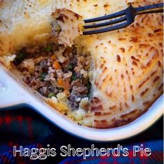 Foodie Quine: Haggis Shepherd's Pie with Scotch Lamb for St Andrew's Day