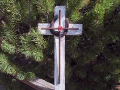unique rustic cross by DavidHamiltonDesigns on Etsy, $45.00