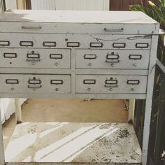 Just bought this on a Facebook group, any minute now it's getting delivered.....yay! #industrial #vintage #cabinet #shabby