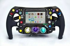 Todos los secretos del nuevo volante de los F1 :)