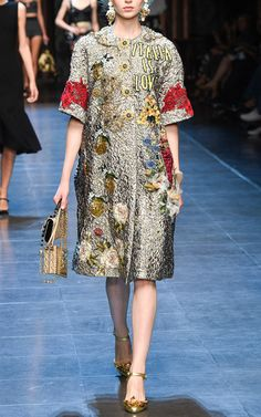 Dolce & Gabbana Spring Summer 2016 Look 8 on Moda Operandi