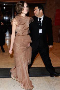 "Style Evolution: Keira Knightley in tulle Valentino ~ ""Last Night in Rome"" premiere, 5th International Rome Film Festial, 2010"