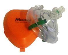CPR Notfall Beatmungsmaske Taschenmaske Beatmung