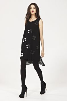 DAISY SHADES OF WINTER Dress - VALENTINES DAY TCHWINTER 2014 : Trelise Cooper-New In : Trelise Cooper Online