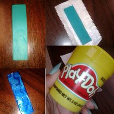 lol the classic play-doh gum replacement prank.