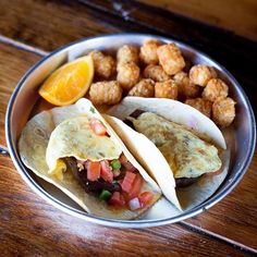 Consider this an early morning fiesta. Grab our breakfast tacos during our Saturday morning brunch, starting at 9. #edleysbbq