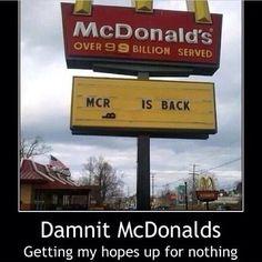 Damn mcdonalds