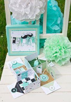 "Das ""Warten"" auf den kleinen Prinz verschönert :) 3d Paper Crafts, Paper Toys, Paper Gifts, Diy Paper, Diy And Crafts, Card In A Box, Pop Up Box Cards, Magic Box, Pop Up Greeting Cards"