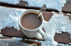 Dairy-Free Peppermint Hot Chocolate from Ancheta Best Gluten Free Recipes, Allergy Free Recipes, Real Food Recipes, Paleo Recipes, Xmas Recipes, Skinny Recipes, Drink Recipes, Yummy Drinks, Healthy Drinks