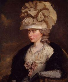 The writer Fanny Burney, by her relative Edward Francis Burney (c1784-85).