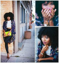 Urban Bush Babe Jessica Franklin. Visit NaturalHairSalonFinder.com to find a stylist for your natural hair