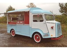 BEAUTIFUL RESTORED CITROEN HY FOOD TRUCK 1