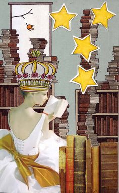 This is called the Book Queen and the card is in the Committee suit. Go to http://redondowriter.typepad.com/sacredordinary/2015/05/soulcollage-birth-of-eve-and-the-book-queen.html for I am the one who statements.