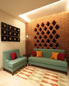 Best Sofa - Center Table Design in India Classy Living Room, Decor Home Living Room, Living Room Designs, Living Room Partition Design, Room Partition Designs, Indian Home Design, Indian Home Interior, Ethnic Home Decor, Indian Home Decor