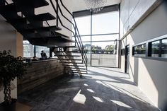 Van Hende Gavere #Stadbader #Building #wine Building Department, School Building, Stairs, Van, Home Decor, Stairway, Decoration Home, Staircases, Room Decor