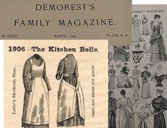 old timey apron patterns   Vintage Apron Patterns – About Vintage Apron Pattern Companies