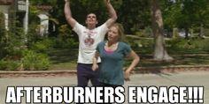 Afterburners. Lol