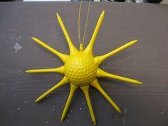 How to Make a Golf Ball Sun - Craft Tutorial