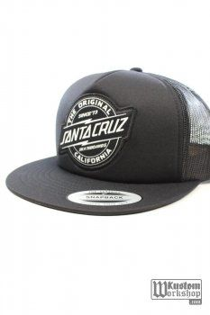 Casquette Santa Cruz Works black