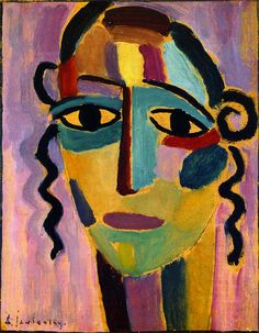 The Athenaeum - Mystical Head (Alexei Jawlensky - )