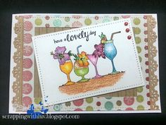 Scrapping with LUV: Unity Stamp Itty Bitty Challenge Sept 15