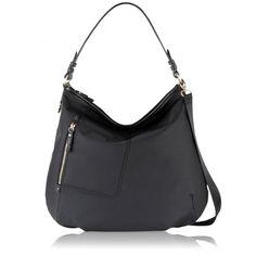 Buy Radley Shilling Large Hobo Bag, Black from our Women's Handbags range at John Lewis & Partners. Bags 2015, Radley, Beautiful Handbags, Black Purses, Black Handbags, Hobo Bag, Fashion Bags, Bucket Bag, Purses And Bags