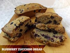 Country Pickins: Blueberry Zucchini Bread