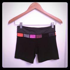 Lululemon Reversible Shorts Lululemon Reversible Shorts. Size 4. Only worn a few times. lululemon athletica Shorts