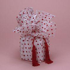 Red Polka Dot Wrap