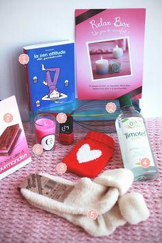 LA BOX GROSSESSE (FAITE MAISON). Une bonne idée cadeau pour une baby shower.