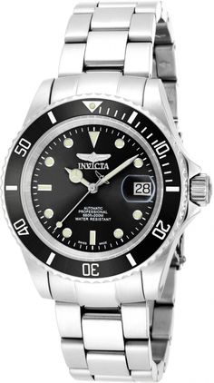 A solidly built automatic diving watch without making a hole in your wallet? This is it. Invicta Pro Diver 9937.