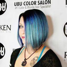 Blue Galaxy Hair by @trishubucolorsalon at @ubucolorsalon using @magiclightener @mineralsofeden.official @olaplex @pravana #sunsethair #colormelt #colorfulhair #galaxyhair #mermaid #mermaidhair #mermaidians #unicornhair #colourpop #pravana #pravanavivids #neon #neonhair #ESTETICALIKES #luxuryhair #rainbowhair #rainbow #hairenvy #hairinspo #hotonbeauty #sunset #pinkhair #purplehair #photoshoot #ubucolorsalon #bluehair #Olaplex #dyeddollies #dollswithdye @mermaidians #showusyourvivids