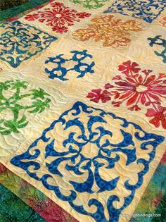 quilt kits | Easy Hawaiian Quilting - Honolulu Sampler Quilt Kit w/ FREE Pattern!