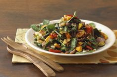 This robust salad tastes great served either warm or chilled.