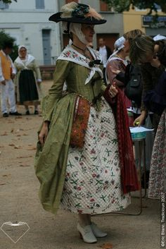 Traditional folk dress of Provence, France