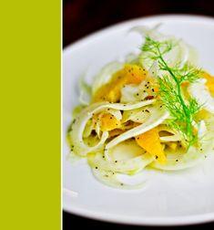 Fennel & citrus salad...wonderful, clean flavors!