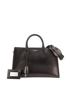 Padlock Nude Works Extra-Small Tote Bag, Black by Balenciaga at Bergdorf Goodman.