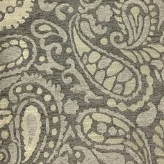 For sale online is our Sydney collection modern paisley designer pattern chenille fabric. This heavyweight textured chenille fabric feels soft and cozy making it perfect for any decorative, interior d