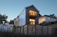 Lever Homes - modern - Exterior - Seattle - First Lamp