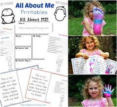 An Absolutely Adorable All About Me Activity, Family Keepsakes, Free Printables, Handprints, Footprints, fun activities for kids, Great Preschool Theme, ECE All About Me Preschool Theme Activities, Preschool Weekly Themes, Free Preschool, Preschool Printables, Free Printables, Preschool Ideas, Monthly Themes, Craft Ideas, Kindergarten Lesson Plans
