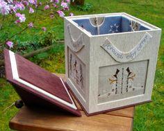 Милые сердцу штучки: Шкатулка-дом (вышивка+картонаж)