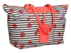 Marc by Marc Jacobs Preppy Nylon Printed East/West Tote Lead Multi - Zappos.com Free Shipping BOTH Ways