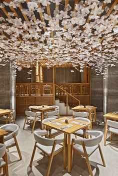 Das Sushi Restaurant in Spanien ist vom Aussehen japanischer Dörfer geprägt!