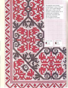 Cross Stitch Love, Cross Stitch Borders, Cross Stitch Designs, Cross Stitch Patterns, Benaki Museum, Border Embroidery Designs, Needlepoint Stitches, Cross Stitches, Stitch 2