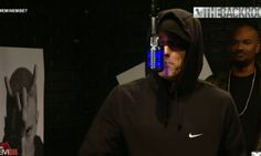 Today on 106 & Park for a special edition of The Backroom, Eminem stops by with Slaughterhouse and they destroy it.