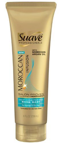 Suave Professionals Moroccan Infusion Deep Conditioning Shine Mask, 8 Ounce Suave http://www.amazon.com/dp/B00A0IWSN4/ref=cm_sw_r_pi_dp_Diy2tb1HKBTZA5CJ