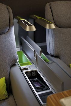 First-Class Cabin, TAM Airlines / Priestmangoode
