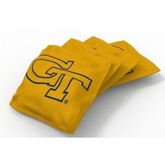 Wild Sports Georgia Tech Beanbag Set Yellow - Outdoor Games And Toys, Outdoor Games at Academy Sports