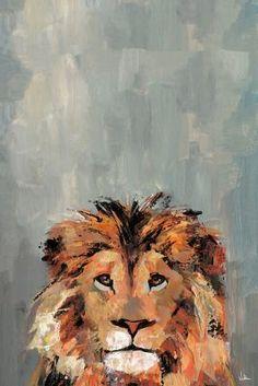 acrylic art 'Hola Léon' Canvas Art Lion Painting, Acrylic Painting Canvas, Painting Prints, Painting & Drawing, Acrylic Painting Inspiration, Trippy Painting, Art On Canvas, Acrylic Painting Animals, Painted Canvas